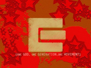 One God, One Generation, One Movement Wallpaper