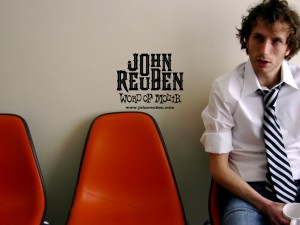 John Reuben – Word of Mouth Wallpaper