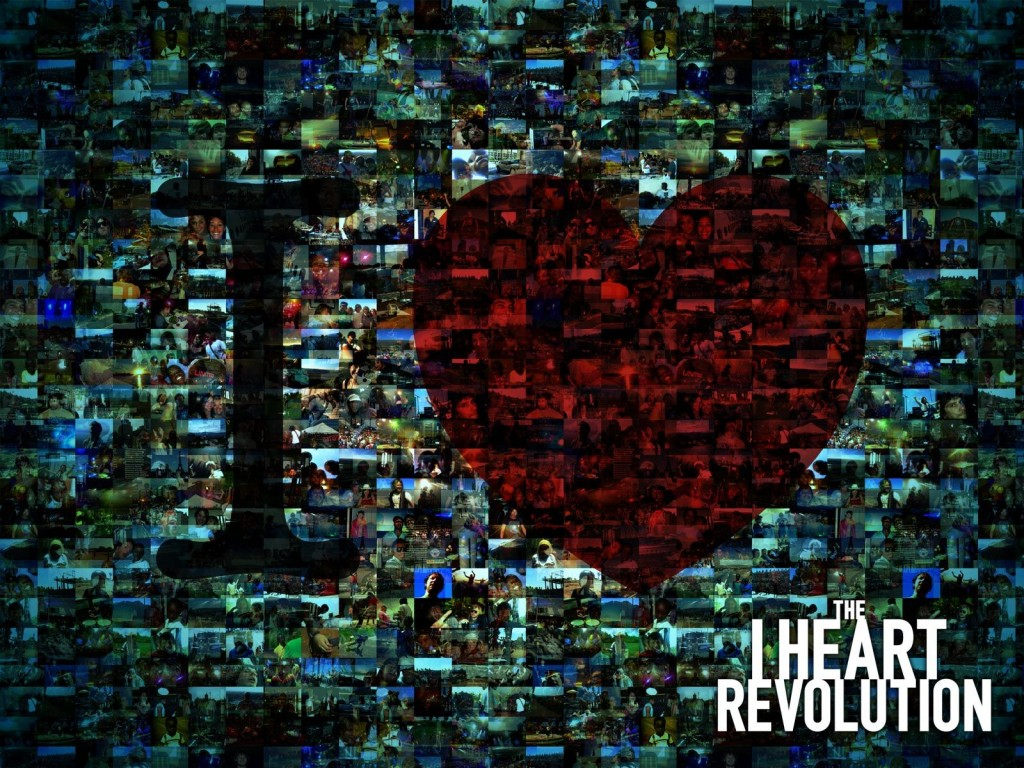 The I Heart Revolution christian wallpaper free download. Use on PC, Mac, Android, iPhone or any device you like.