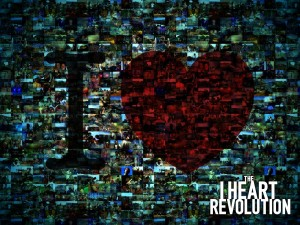 The I Heart Revolution Wallpaper