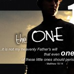 Matthew 18:14 – The One Wallpaper Christian Background
