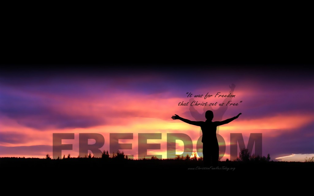 Celebrate Freedom christian wallpaper free download. Use on PC, Mac, Android, iPhone or any device you like.