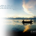 Matthew 4:19-20 – Follow Jesus Wallpaper Christian Background