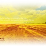 In a Desert Land Wallpaper Christian Background
