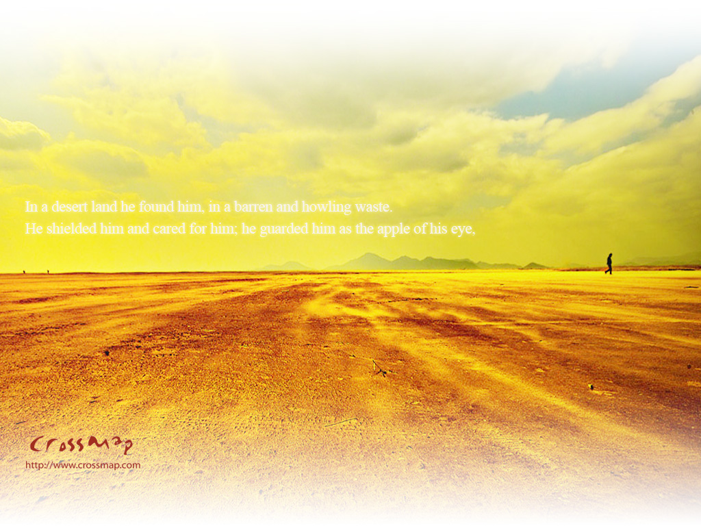 In a Desert Land christian wallpaper free download. Use on PC, Mac, Android, iPhone or any device you like.