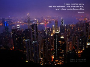 Isaiah 57:18 – He Will Lead Us Wallpaper
