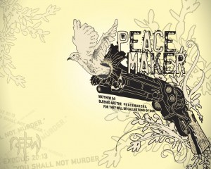 Matthew 5:9 – Blessed Are The Peacemakers Wallpaper