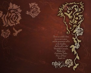 Isaiah 9:6 – Prince of Peace Wallpaper