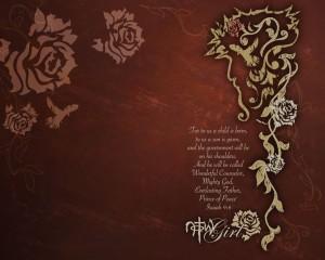 Isaiah 9:6 – Prince of Peace Wallpaper
