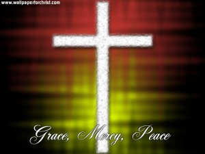 2 John 1:3 – Grace, Mercy, Peace Wallpaper
