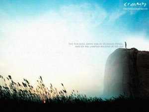 Genesis 32:31 – The Morning of Paniel Wallpaper