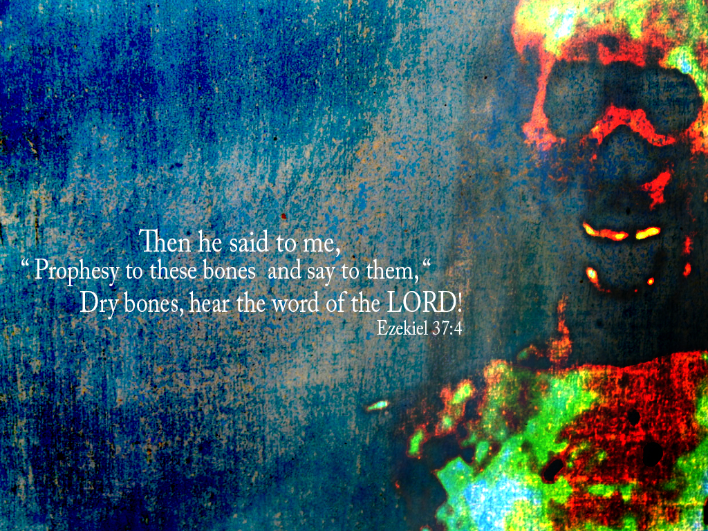 Ezekiel 37:4 – Word Of The Lord christian wallpaper free download. Use on PC, Mac, Android, iPhone or any device you like.