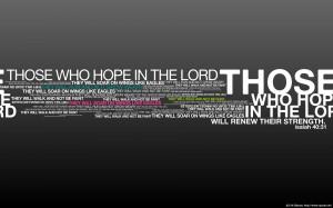 Isaiah 40:31 – Like Eagles Wallpaper