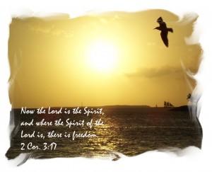 2 Corinthians 3:17 – Freedom Wallpaper