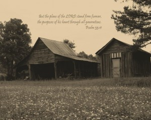 Psalm 33:11 – The Plans Of The LORD Wallpaper