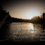 Genesis 1:9 – The Lands And Seas Wallpaper Christian Background