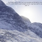 Luke 3:5 – All Things Are Possible Wallpaper Christian Background
