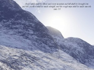 Luke 3:5 – All Things Are Possible Wallpaper
