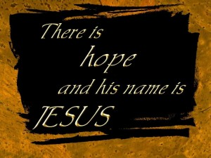 There is hope Wallpaper