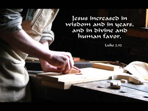 Luke 2:52 – Jesus Increased in Wisdom Wallpaper