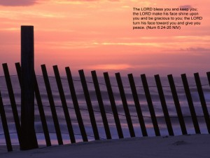 Numbers 6:24-26 – The Lord Bless You Wallpaper