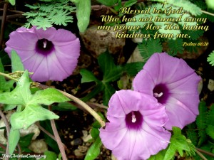 Psalms 66:20 – Prayers to God Wallpaper