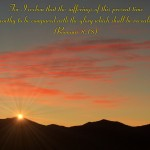Romans 8:18 – Glory To Be Revealed Wallpaper Christian Background