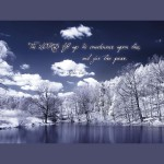 Numbers 6:26 – LORD Lift Up His Countenance Wallpaper Christian Background
