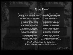 Dying World Wallpaper