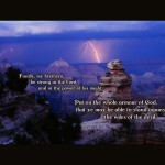 Ephesians 6:10-11 – Be Strong Wallpaper Christian Background