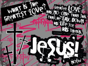 Christian Quote: What Is The Greatest love? Wallpaper