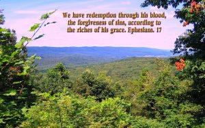 Ephesians 1:7 – Redemption Wallpaper