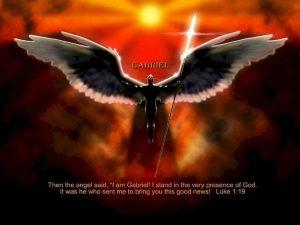 Luke 1:19 – Angel Gabriel Wallpaper