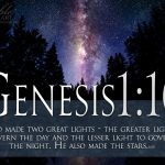 Genesis 1:16 – Two Great Lights Wallpaper Christian Background