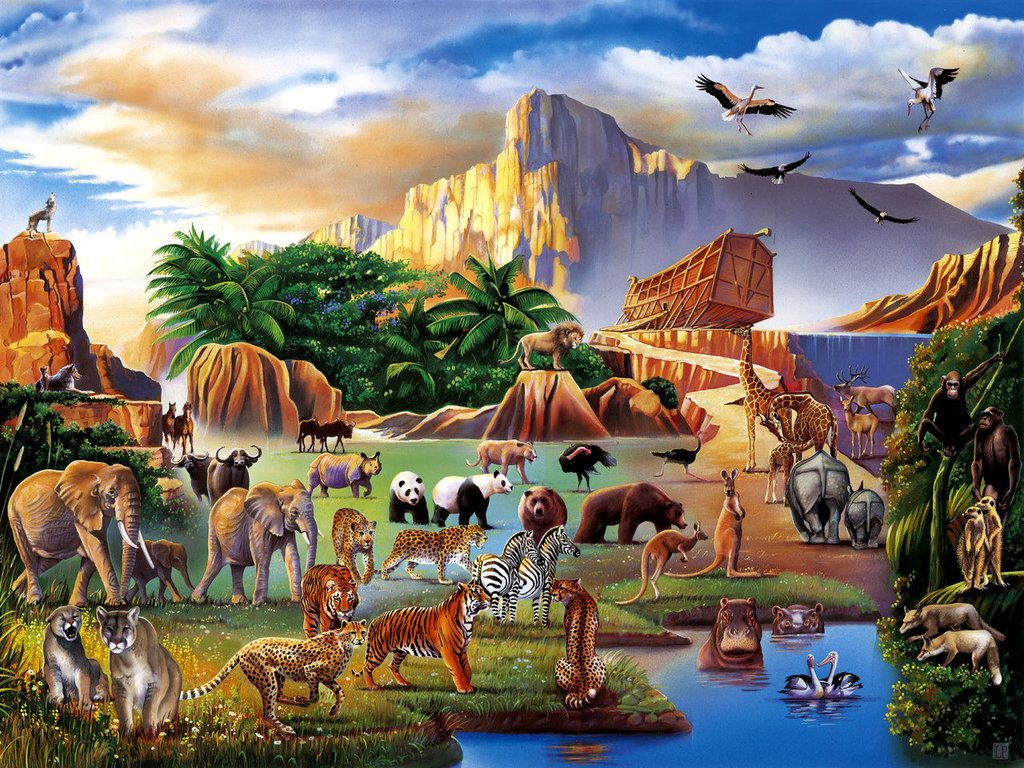 Bible Tale: Noah's Ark christian wallpaper free download. Use on PC, Mac, Android, iPhone or any device you like.