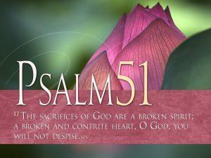 Psalm 51:17 – My Sacrifice Wallpaper