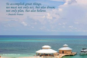 Christian Quote: Anatole France Wallpaper