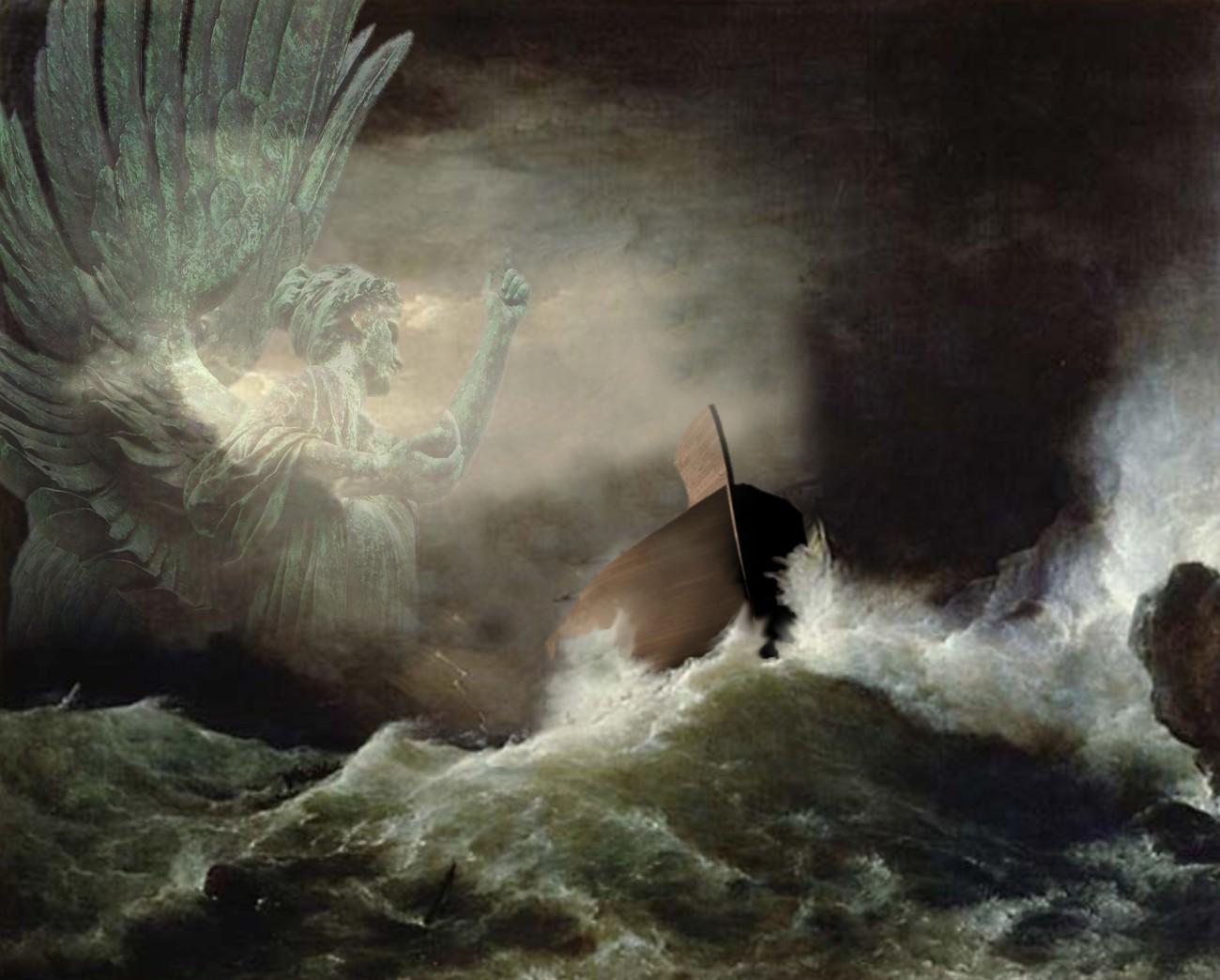 Bible Events: Noah's Ark Papel de Parede Imagem