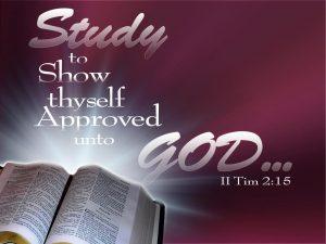 2 Timothy 2:15 – Bible Study Wallpaper
