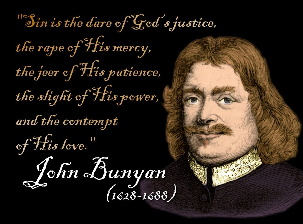 Christian Quote: John Bunyan christian wallpaper free download. Use on PC, Mac, Android, iPhone or any device you like.