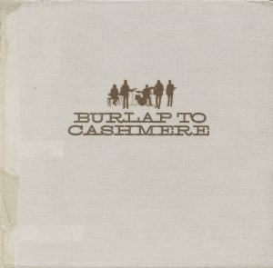 Christian Band: Burlap to Cashmere (Cover) Wallpaper