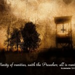 Ecclesiastes 12:8 – All Is Vanity Wallpaper Christian Background