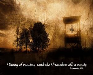 Ecclesiastes 12:8 – All Is Vanity Wallpaper