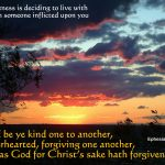 Ephesians 4:32 – God Has Forgiven You Wallpaper Christian Background