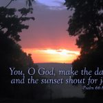 Psalm 66:8 – Shout for Joy Wallpaper Christian Background