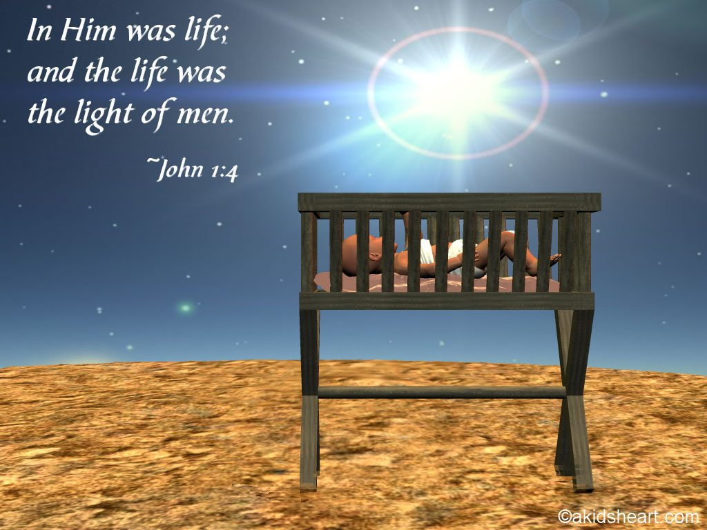 John 1:4 – Light Of Men christian wallpaper free download. Use on PC, Mac, Android, iPhone or any device you like.