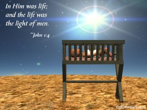 John 1:4 – Light Of Men Wallpaper