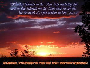 John 3:36 – Eternal Life Wallpaper