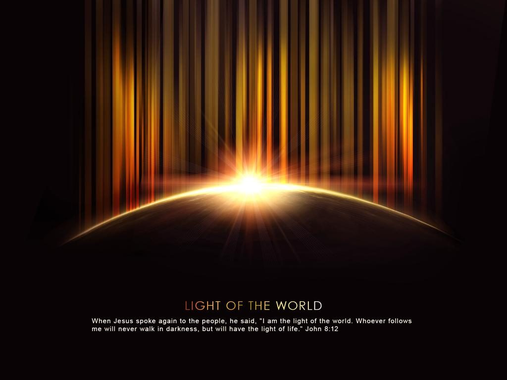 John 8:12 – Light of the World christian wallpaper free download. Use on PC, Mac, Android, iPhone or any device you like.
