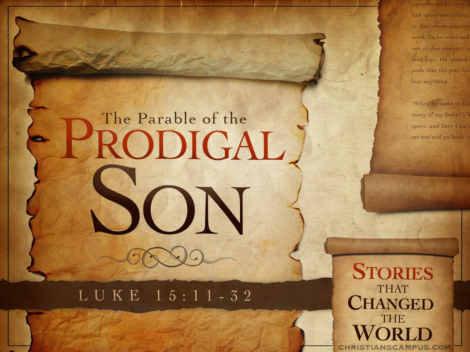 the biblical theme of the prodigal sons parable in bishops and rossettis poems
